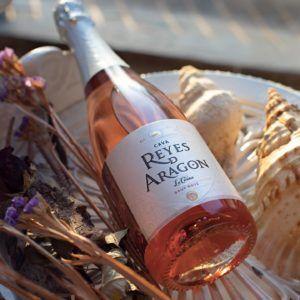 Cava Reyes de Aragon Brut rosado