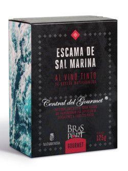 Escamas de sal marina al vino Bras del Port
