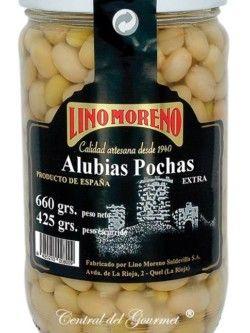 Alubias Pochas Gourmet Extra Lino Moreno