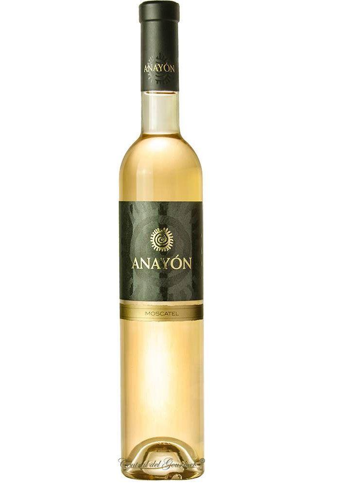 Anayón Moscatel Barrica vino dulce de autor