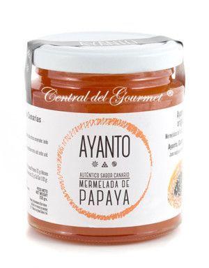 Mermelada de Papaya Gourmet de Canarias AYANTO