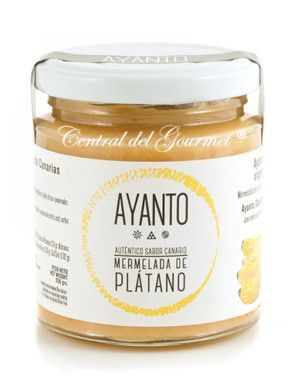 Mermelada de Platano Gourmet de Canarias AYANTO