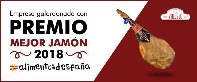 jamones Vallejo gourmet premio mejor jamón español 2019