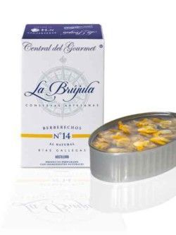 Berberechos La Brújula al natural 35/45 Gourmet