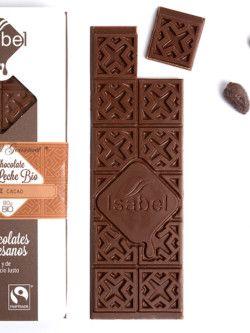 Tableta Chocolate con leche ecologico Isabel