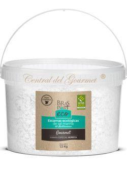 Escamas ecológicas de sal marina gourmet Bras del Port 1500 gr