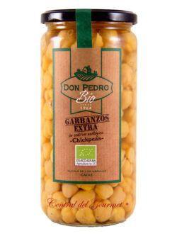 Garbanzo lechoso andaluz ecologico cocido Don Pedro BIO