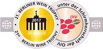 Gold Medal at BERLINER WEIN TROPHY 2017 (GERMANY)
