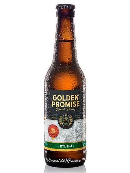 Cerveza artesana Rye IPA Golden Promise