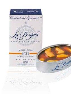 Mejillones en escabeche 6-8 La Brújula Gourmet