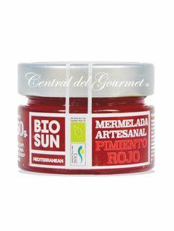 Mermelada casera de Pimiento Rojo Gourmet ecologica BIOSUN