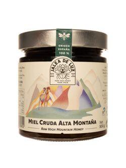 Miel de Aragon Flora Serrana cruda artesana Jalea de Luz 500 gr