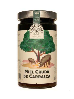 Miel de Carrasca pura artesanal Jalea de Luz, tarro 950gr