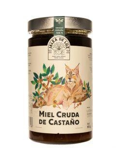 Miel de Castaño cruda artesana gourmet Jalea de Luz 950 gr