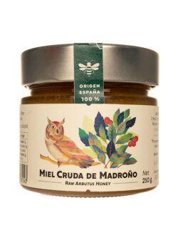 Miel de Madroño cruda artesana Jalea de Luz 250 gr