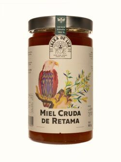 Miel pura de Retama artesana gourmet Jalea de Luz 950 gr