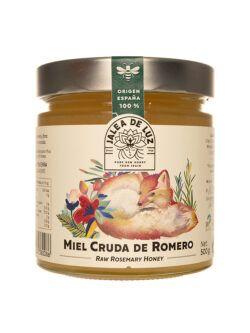 Miel de Romero cruda con nueces gourmet Jalea de Luz 500 gr