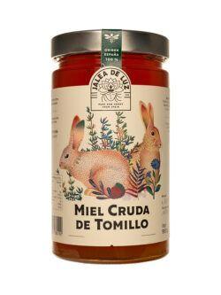 Miel de Tomillo pura artesana Jalea de Luz, tarro 950gr