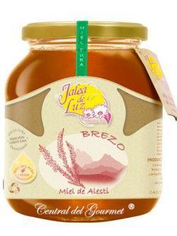 Miel de Brezo cruda artesana gourmet Jalea de Luz