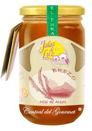 Miel de Brezo pura artesana gourmet Jalea de Luz