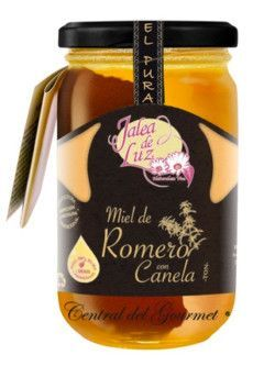 Rosemary honey raw cinnamon gourmet