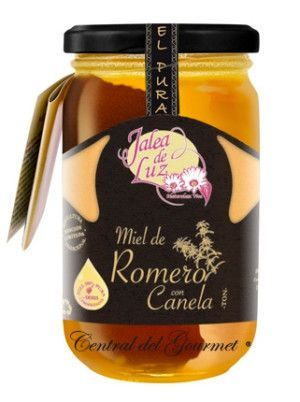 Miel de Romero cruda con canela gourmet