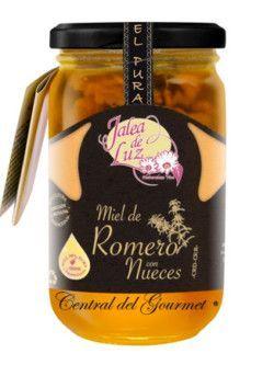 Miel de Romero cruda con nueces gourmet