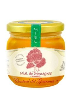 Rosemary honey raw artisan gourmet Jalea de Luz 250
