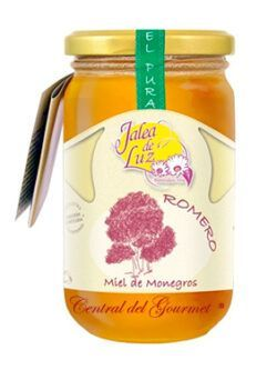 Rosemary honey raw artisan gourmet Jalea de Luz 500