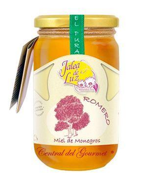 Miel de Romero cruda artesana gourmet Jalea de Luz 500