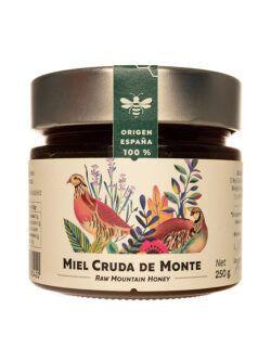 Miel de Aragon Flora Serrana cruda artesana 250