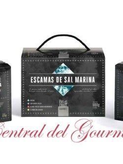 Pack escamas de sal marina gourmet Bras del Port