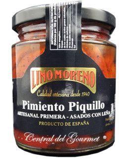 Pimientos del Piquillo Asados Gourmet artesanos primera Lino Moreno