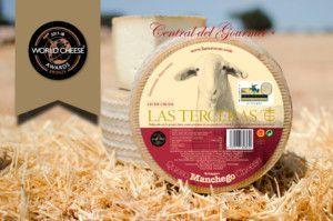 Queso Manchego Artesano Semicurado leche cruda oveja Las Terceras