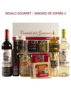 REGALO GOURMET SABORES DE ESPAÑA SE2