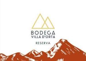 Etiqueta del Vino Ecológico Tinto Gourmet Reserva 2014 Villa D'Orta