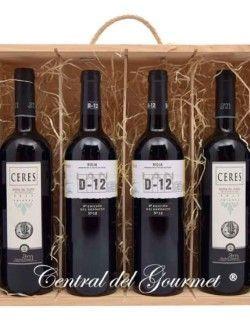 Regalo Selección vinos gourmet para degustar
