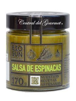 Salsa casera de Espinacas ecologica BIOSUN