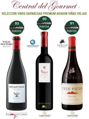 Selección Vinos Garnachas Premium Aragón