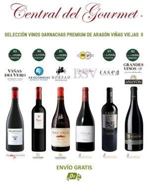 Selección Vinos Garnachas Premium Aragón II