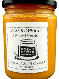 Salsa Romesco gourmet artesana Pozan de Vero