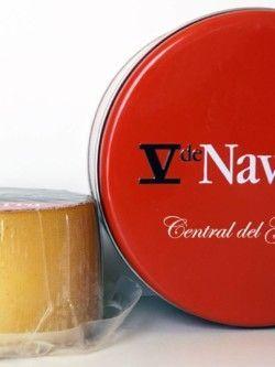 V de Navarra Queso leche cruda Oveja Ahumado 850gr