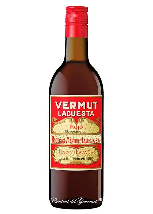 Vermouth Martinez Lacuesta Red
