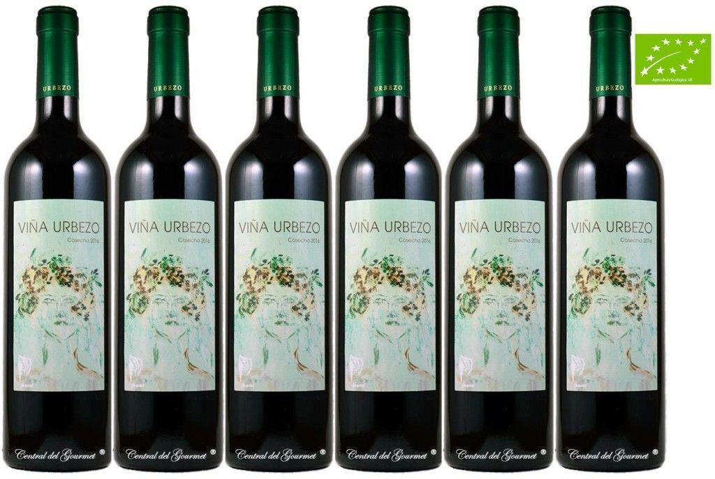 Vino Ecológico Gourmet Viña Urbezo 2016 caja