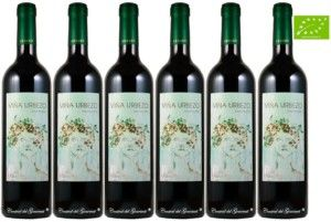 Organic wine Gourmet Viña Urbezo 2016 box
