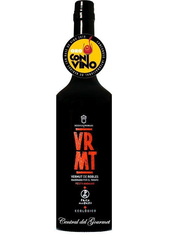VRMT Vermut Ecologico gourmet Bodegas Robles