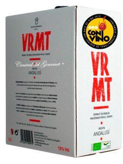 Vermut Ecologico gourmet VRMT Bag in Box Bodegas Robles