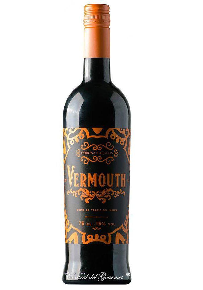 Vermouth Gourmet tinto Corona de Aragón
