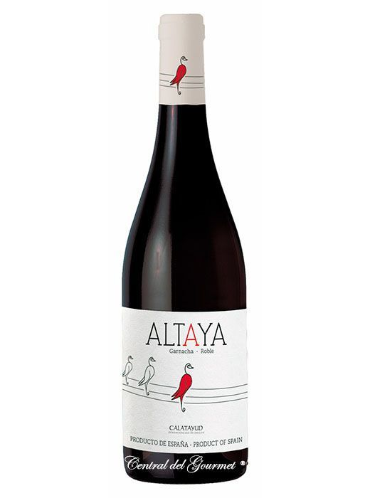 Altaya 2017 Garnacha young wine from Viñas Viejas.