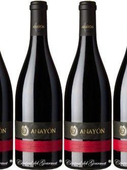 Anayón Cariñena 2013 vino de autor Caja 6 botellas
